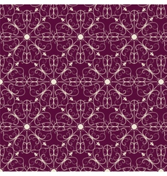 Abstract classic ornament pattern vector image
