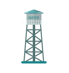 Agriculture water tower icon vector