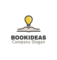Book Ideas Design vector image