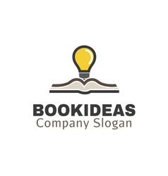 Book Ideas Design vector image
