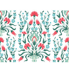 bouquet of flowers seamless pattern vector image