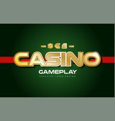 casinogold copy 1 vector image