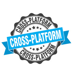 Cross-platform stamp sign seal vector