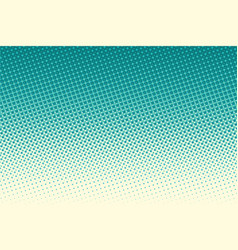 Green pop art raster dots background vector