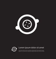 Isolated soother icon suck element can be vector