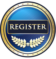 Register now icon vector