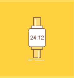 Smart watch smartwatch watch apple android flat vector