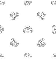 stadium pattern seamless vector image