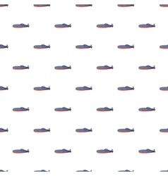 Submarine pattern cartoon style vector image