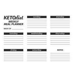 template for the creation of the food menu the vector image