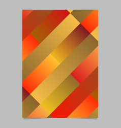 Trendy abstract geometrical diagonal rectangle vector