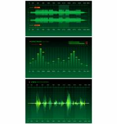 military sound lab vector image