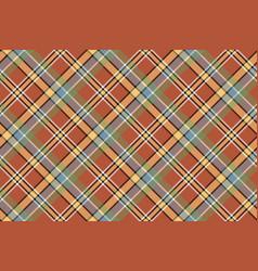 beige brown diagonal plaid pixeled seamless vector image vector image