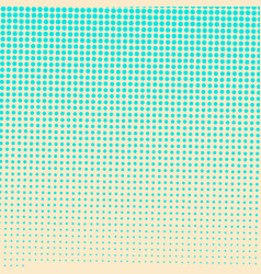 abstract colorful halftone dots horizontal vector image