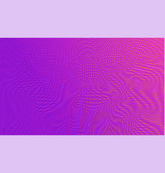 abstract colorful halftone dots horizontal vector image