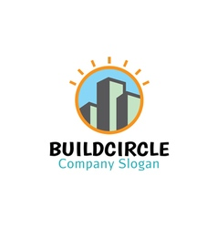 Build Circle Design vector image