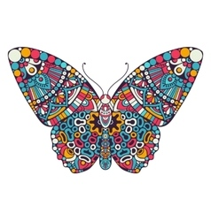 Butterfly Vintage decorative elements vector