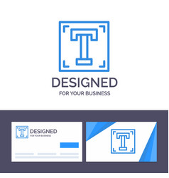 Creative business card and logo template designer vector