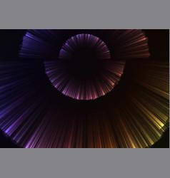 Rainbow circle blast abstract sheet background vector