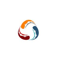 Success solution logo design template vector