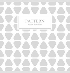 triangle seamless geometric pattern vector image