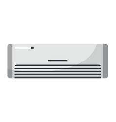 white air condition isolated on background vector image