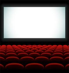 Cinema auditorium vector