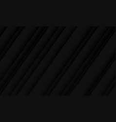 Abstract black dark shadow line pattern design vector