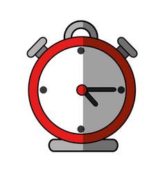 Clock alarm isolated vector