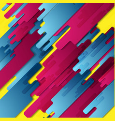 Colorful geometry hi-tech abstract background vector