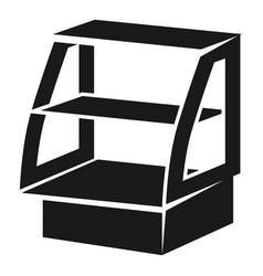 Freezer showcase icon simple style vector
