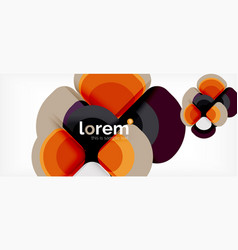 geometric modern abstract background vector image