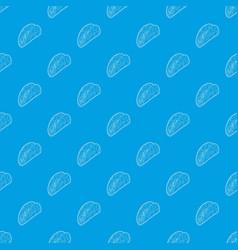 kebab pattern seamless blue vector image