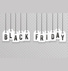 price sale text labels black friday transperent vector image