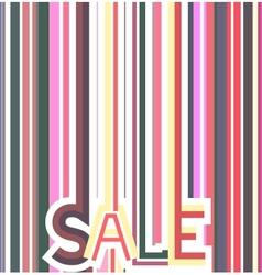 Sale background vector