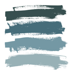 Stains brush strokes background for design cold vector