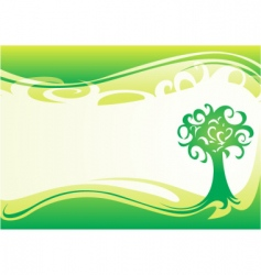 wallpaper for spring vector image