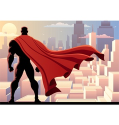 Superhero Watch 2 vector image vector image