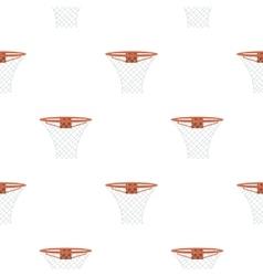 Basketball hoop icon cartoon Single sport icon vector image