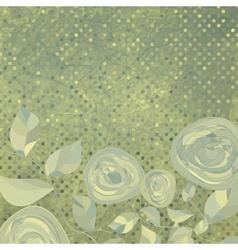 Vintage Floral backgrounds vector image vector image