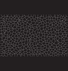 Black and white mosaic vector