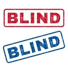 Blind Rubber Stamps vector