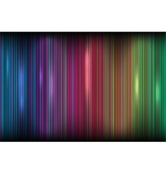 Bright colored stripes effect of the Northern vector image