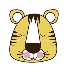 Cute animal icon image vector