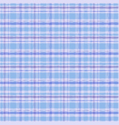 Hand drawn watercolor tartan plaid seamless vector