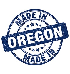 made in Oregon vector image