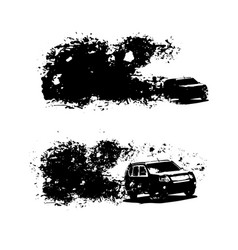 Off-road car image vector
