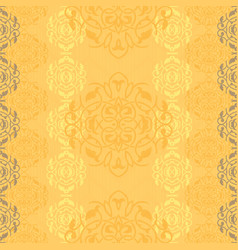 Ornamental pattern in ethnic style vector