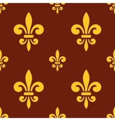 royal lily pattern vector image