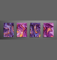 swirls of marble or the ripples of agate liquid vector image
